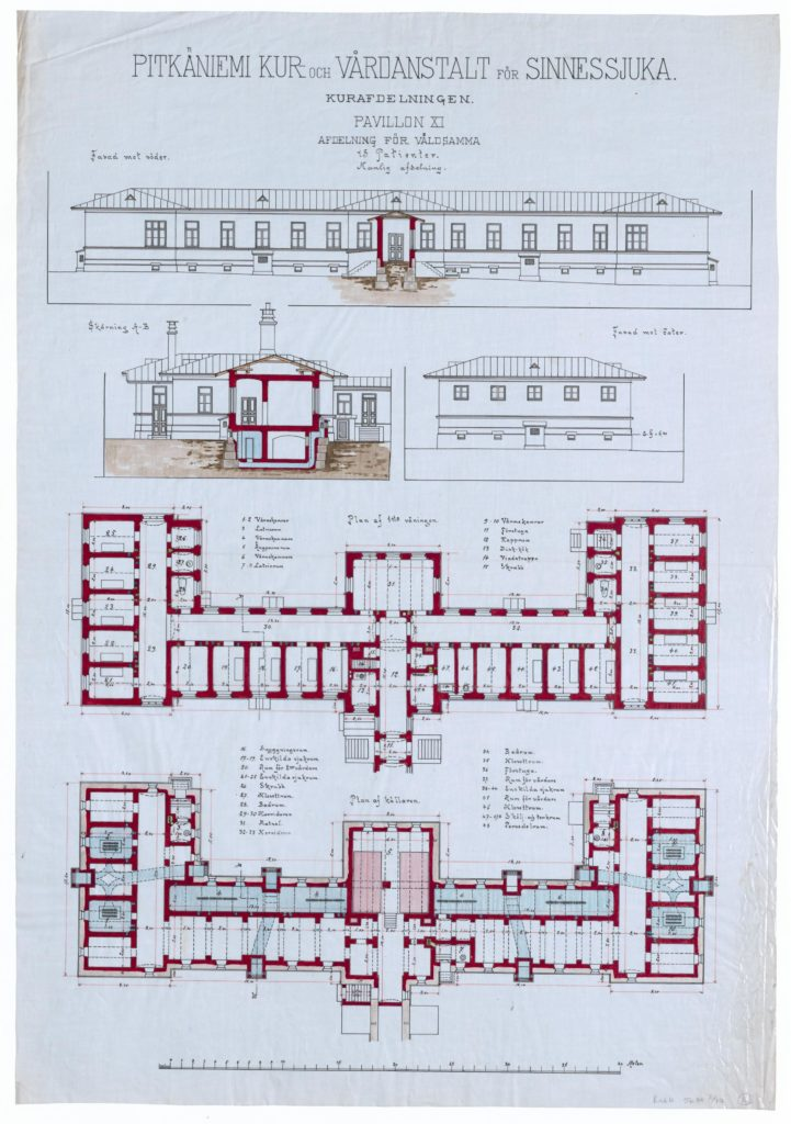 Symmetrinen paviljonki XI