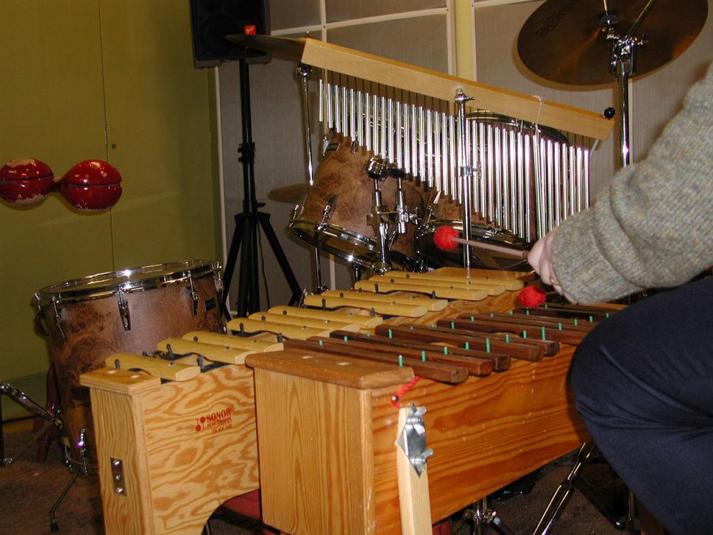 Musiikkiterapiaa Pitkäniemen sairaalassa vuonna 2001.