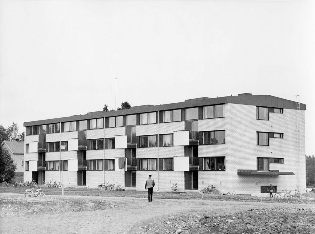 Keijärven sairaalan rakennukset 1960-1970-luvuilta.